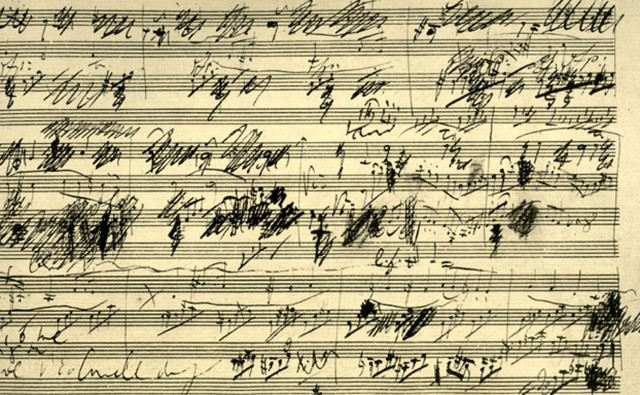 Beethoven's sketches for opus 69 Cello Sonata