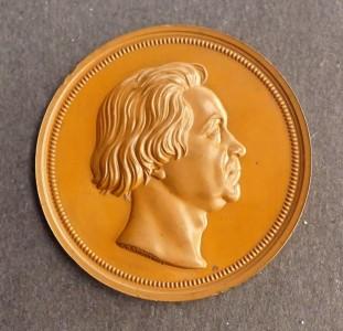 Bohm Beethoven medal copy by Radnitzky   1a