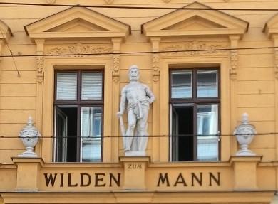 Statue of Herakles, Zum wilden Mann, Wien